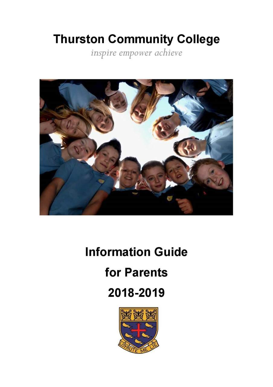 Information Guide for Parents 2018 - 2019