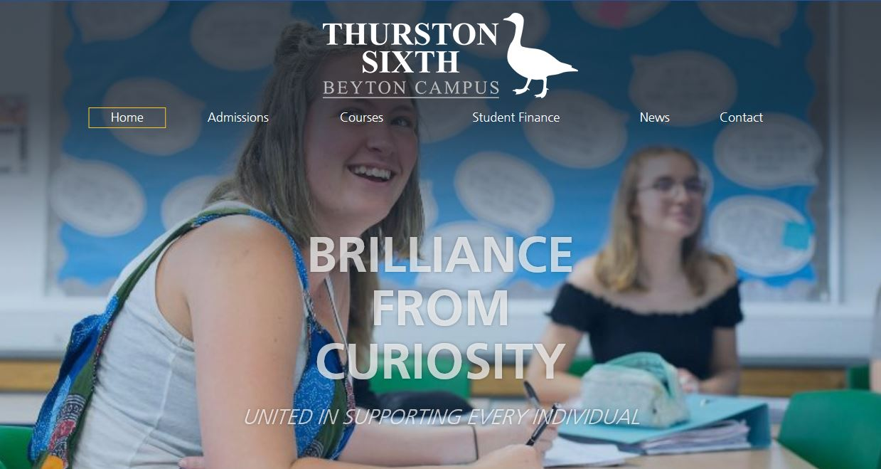 Thurston Sixth Website